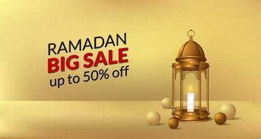 ramadan kareem affisch banner mall vektor