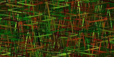mörk flerfärgad vektorstruktur med färgade linjer. vektor