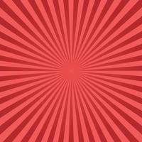 roter Sunburst-Hintergrund vektor
