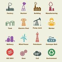 Industrievektorelemente