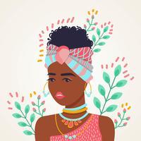 Frauen des Farbvektors