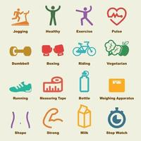 Fitness-Vektor-Elemente vektor