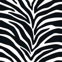 sömlösa mönster zebra linjer bakgrund djur ränder hud tryck