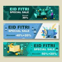 eid fitri specialförsäljningsbanner