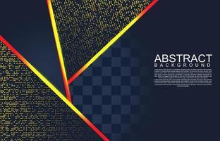 moderner Hintergrund mit Glitzereffekt. geometrischer Hintergrund des modernen abstrakten Entwurfs. abstrakter geometrischer Hintergrund. Vektor 3d Illustration. Vektor-Illustration eps 10