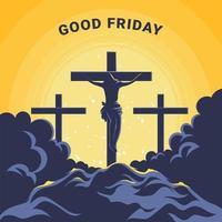 Happy Good Friday Design vektor