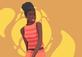 Frauen der Farbvektor-Illustration vektor