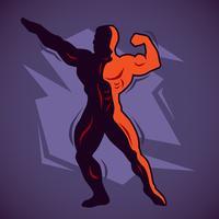 Bodybuilder vektor