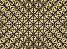 Luxus Gold Ornament Muster Design Hintergrund vektor