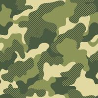 grüner nahtloser grafischer Hintergrund des Tarndrucks. kreative Vektor Textur. grüne wiederholte Farbvektortarnung. Khaki-Tarnung. nahtloses Muster.