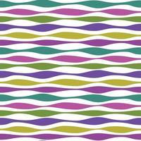 vågiga linjer randig vektor bakgrundsmönster