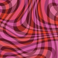 mod rosa röda ornage vågiga abstrakt rutiga vektor bakgrundsmönster