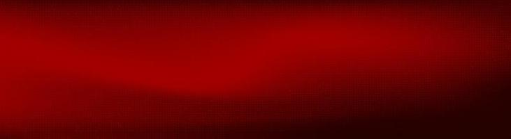 panorama rött digitalt mikrochip på teknikbakgrund vektor