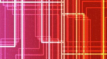 Hintergrund der Neonlichttechnologie, digitales und Sicherheitskonzeptdesign, freier Speicherplatz für Text vektor