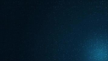 weicher blauer Mikrochip auf Technologiehintergrund, Hi-Tech- und Sicherheitskonzeptdesign vektor