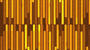 futuristischer Mikrochip der Geschwindigkeitsleitungsschaltung auf Goldtechnologiehintergrund vektor