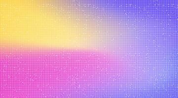 färgglad teknikbakgrund, högteknologisk digital och unicon konceptdesign vektor