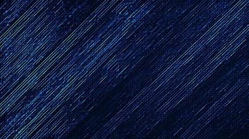blå kretsmikrochip på teknikbakgrund, högteknologisk digital och säkerhetskonceptdesign vektor
