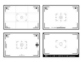 videokamera sökarvisningsvektor vektor