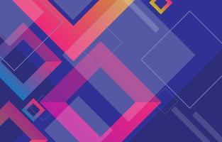geometrischer quadratischer abstrakter Hintergrund vektor