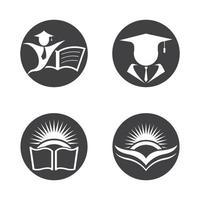 utbildning logotyp design