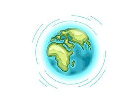 världen reser vektor koncept