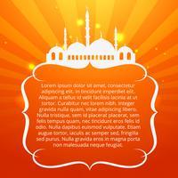 Ramadan Kareem Festival vektor