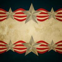 vintage amerikanska flaggan