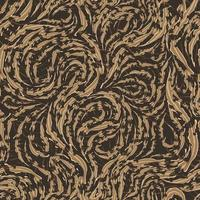 nahtloses Vektormuster von glatten beige fließenden Linien mit zerrissenen Kanten. Textur von Holz- oder Marmorfasern.