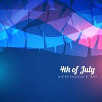 abstrakt 4 juli vektor