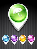 paraply ikon