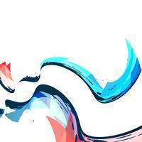 abstrakt våg bakgrund vektor