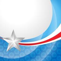 Unabhängigkeitstag 4. Juli vektor