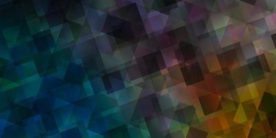 ljusblå, gul vektorbakgrund med polygonal stil. vektor