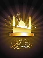 Islamische Ramadan-Vektor-Illustration