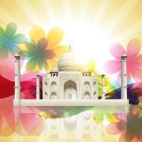 Taj Mahal vektor
