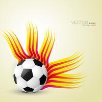 abstrakter Fußballentwurf vektor