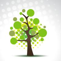 Vektor abstrakten Baum