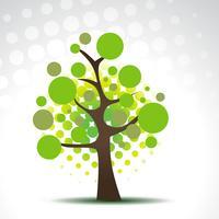 vektor abstrakt träd