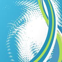 abstrakte Welle Hintergrund vektor