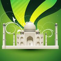 Taj Mahal-Vektor vektor