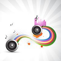 vektor musik bakgrund
