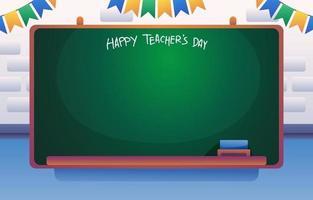 Lehrer Board Hintergrund vektor