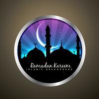islamisches Label vektor