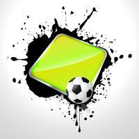 Fußball-Design-Vektor vektor