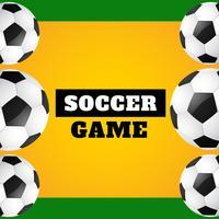 Vektor-Fußballspiel