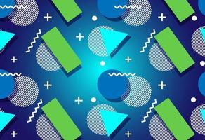 nya retro geometriska moderna bakgrunder vektor