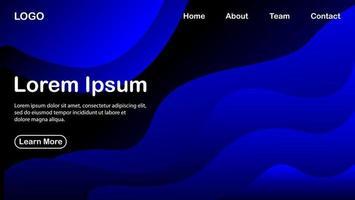 abstrakter Hintergrund mit blauem Farbeffekt vektor