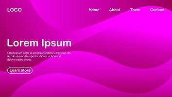 abstrakter Hintergrund mit lila Farbeffekt unter Verwendung eines modernen Konzepts vektor