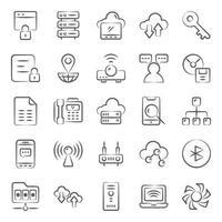 elektroniskt nätverk och kommunikation